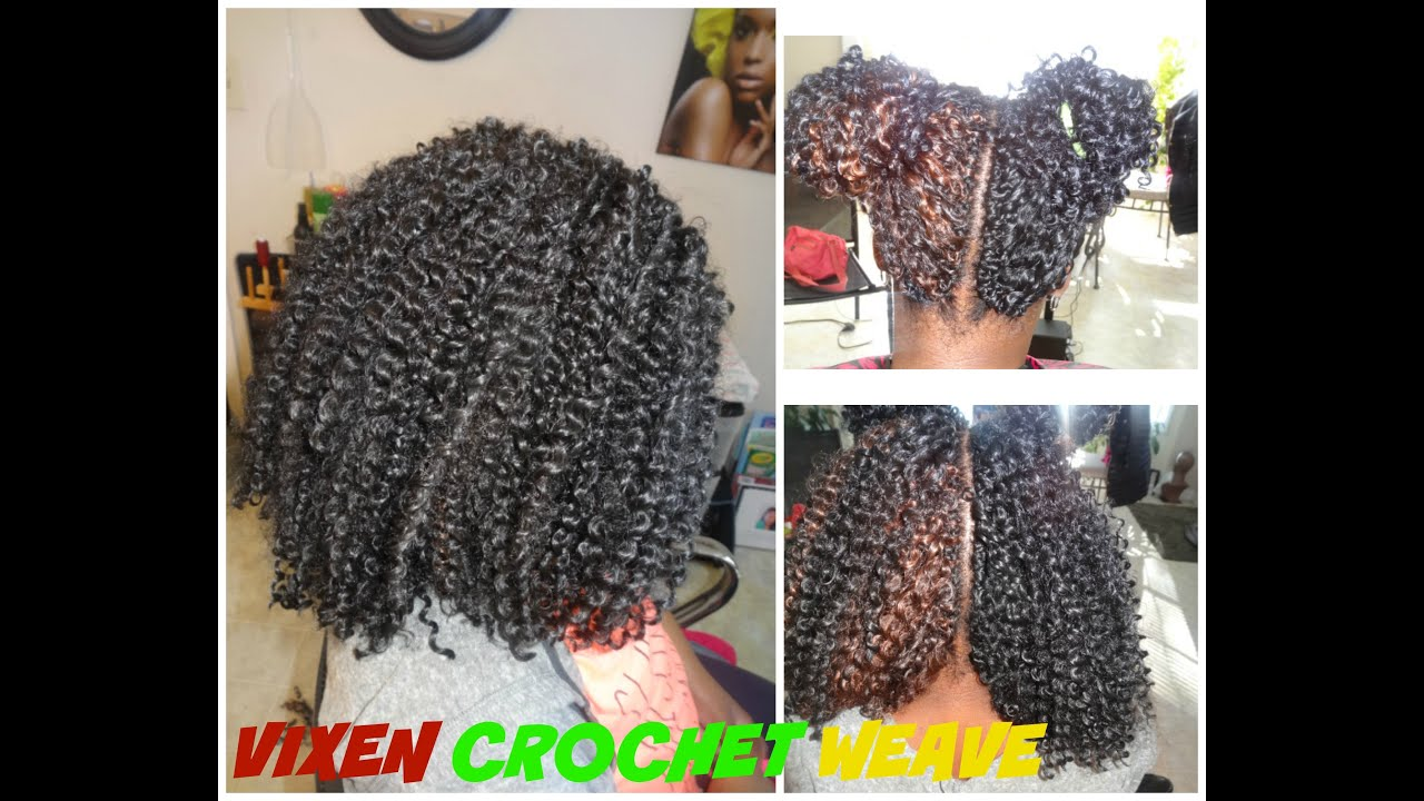 VIXEN CROCHET WEAVE With Curly Hair FreeTress Bohemian