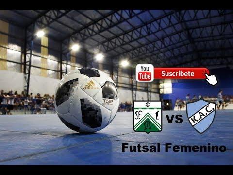 1ra división - Futsal Femenino - Playoffs - Final / Ida - Ferro vs Kimberley