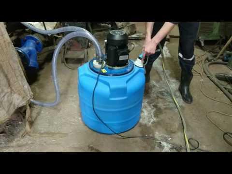 Промывка теплообменника установкой АкваProf 190