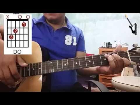 Es Cristo La Roca El Ancla De Mi Fe ... Tutorial Con Guitarra