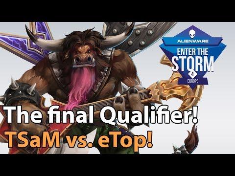 ► Heroes of the Storm Pro Gameplay: eTops vs. TSaM - ETS EU Qualfier