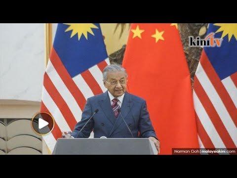 Tun Mahathir 5 hari di China hadir Forum  Satu Jalur Satu Jalan