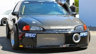 Nyce1s - CCC Racing SFWD Turbo Honda Civic EG @ Honda Day Atco 2012!!!