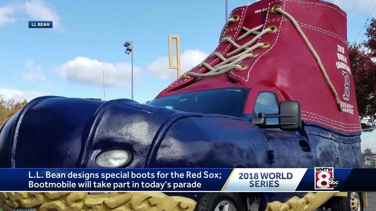 L.L. Bean celebrates Red Sox World