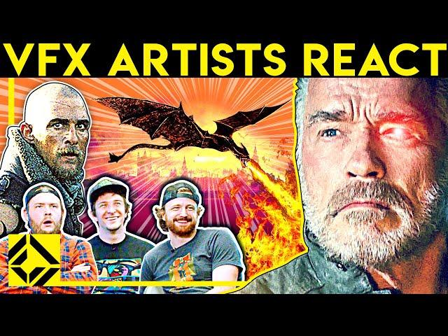 VFX Artists React to Bad & Great CGi 28