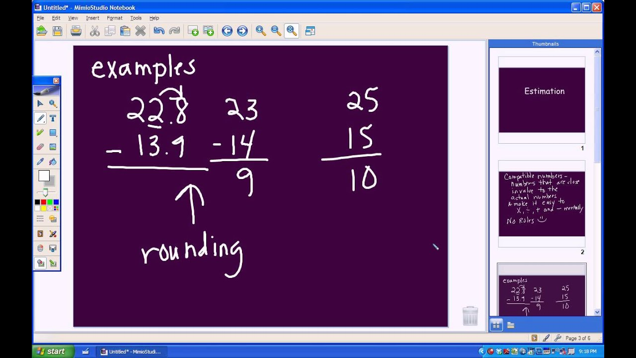 estimation compatible numbers estimation compatible numbers