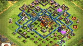 Clash of Clans My defense lost 2 star