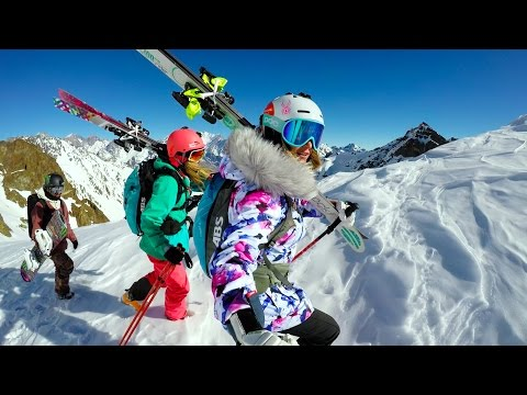 GoPro: Skiing & Snowboarding South America with Julia Mancuso, Jamie Anderson and Lynsey Dyer in 4K
