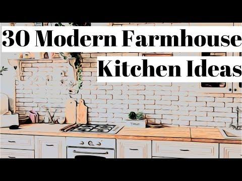 30 Modern Farmhouse Kitchen Ideas 🌻