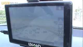 видео GPS-навигатор Lexand SM-537