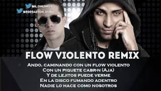 Flow Violento Remix Letra - Arcangel Ft De La Ghetto Video Karaoke REGGAETON 2013