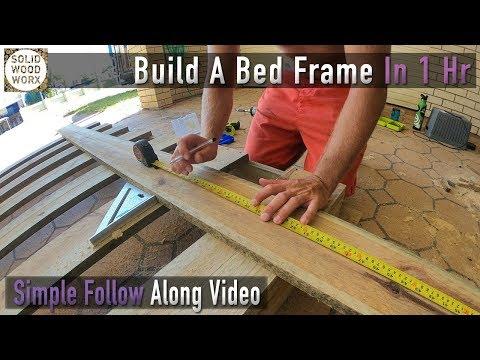 DIY Bedframe For $100