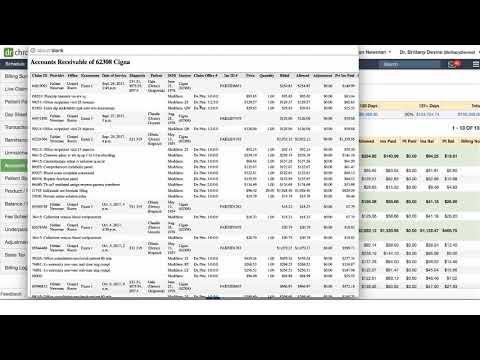Accounts Receivables  - DrChrono Billing Feature Video Series