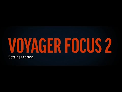Poly Voyager Focus 2  How to video  Español
