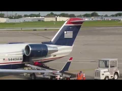Bombardier CRJ200 - US Airways - Buffalo Boston