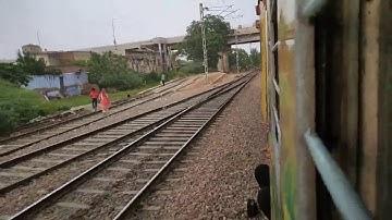 Skipping Pataudi Road Onboard #AjmerJanShatabdi.