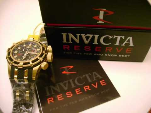 Invicta 6478 Reserve Bolt Limited Anniversary Edition - Mediatwinkle.com -  Free Shipping