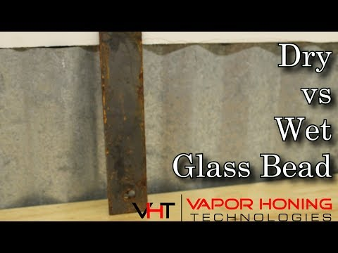 Repeat Cost of Vapor Honing  Low cost wet blasting  Yearly