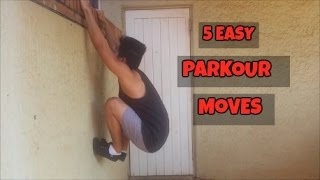 5 EASY Parkour Moves YOU SHOULD LEARN