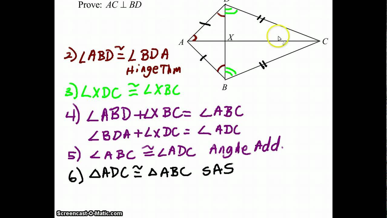 Geometry Proof Perpendicular Lines