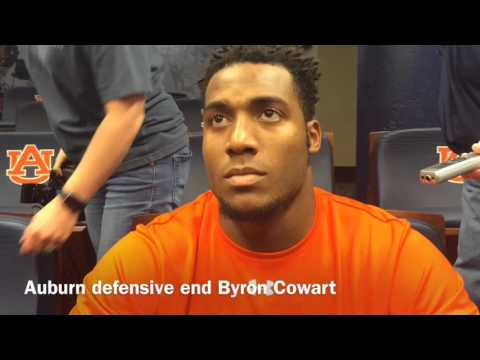 Hear Byron Cowart discuss his freshman year at Auburn, what he's working on this spring
