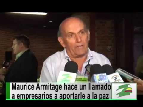 Precandidato a la alcaldía de Cali, Maurice Armitage, reafirma su compromiso con la paz