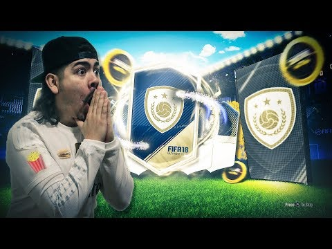 6 GUARANTEED ICON PACKS WE PACKED HIM FIFA 18 Ultimate Team