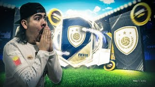 6 GUARANTEED ICON PACKS!! WE PACKED HIM!! FIFA 18 Ultimate Team