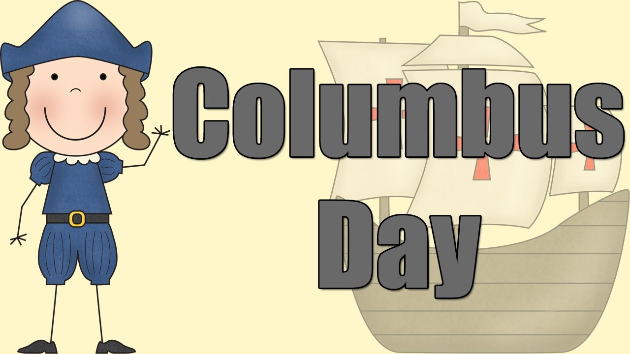 Columbus Day - Learning about Christopher Columbus - YouTube [ 720 x 1280 Pixel ]