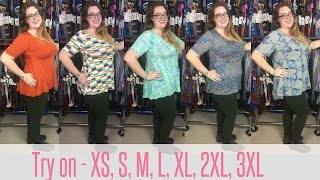 Baixar LuLaRoe Perfect T Fit Video and Try On! Extra Small through Plus Sizes!