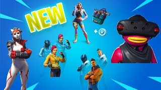 *NEW* Leaked Skins TAKARA, WILDE - FishSticks VR Style , SHADE & MAVERICK New Styles - Fortnite 9.10