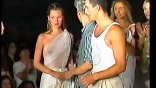 Vassilios Kostetsos Fashion Show Guest Star Kate Moss In Marathon Hellas Part 2
