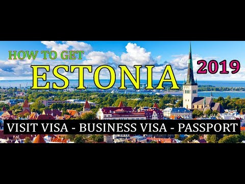 How to Get Estonia Visit Visa[Business Visa][Citizenship] Urdu/Hindi 2019 Premier Visa Consultancy