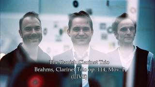 The Danish Clarinet Trio plays Brahms' Clarinet Trio (Lonquich, Slaatto, Hansen)