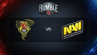 World of Tanks - Tornado Rox vs. NaVi - Continental Rumble - Semifinal