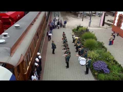 Golden Eagle Danube Express a Vasúttörténeti Parkban