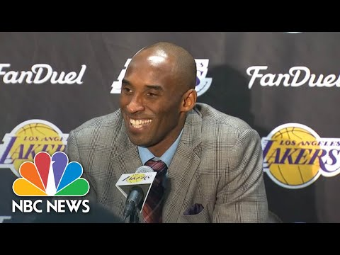 Watch Kobe Bryant Speak Spanish, Italian, And Chinese At Press Conferences   NBC News