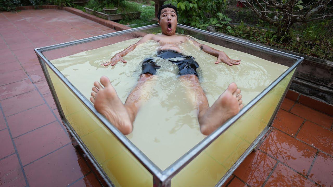 NTN -  Thử Đổ 1 Tấn Muối Vào Bể Bơi Và Cái Kết (How To Float On The Water)
