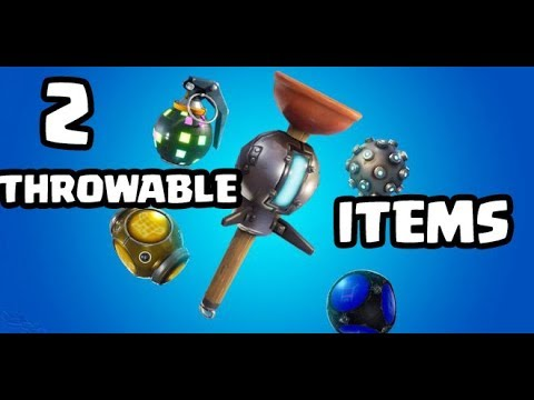 fortnite season 8 week 6 challenges use two different throwable items in a single match - throwable items in fortnite challenge