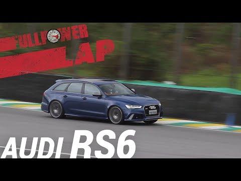 Audi RS6 Performance no FULLPOWER LAP: station monstruoso, V8 biturbo, em Interlagos (SP)