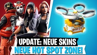 *Update* Alle Skins, Hot Spot Zone & Neue Burst SMG Leak | Fortnite Battle Royale