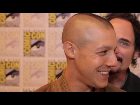 """Sons of Anarchy: Season 5 - Interview with Theo Rossi """"Juice"""""""