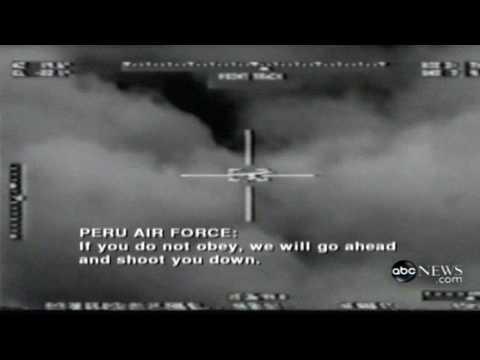 Air Force jet shoots down civilian plane
