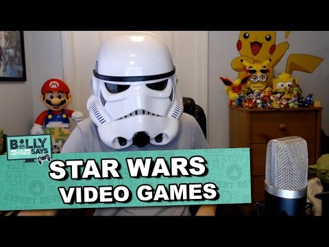 Star Wars Video Games Recommendations The Toy Insider Billy Says Video Game Expert