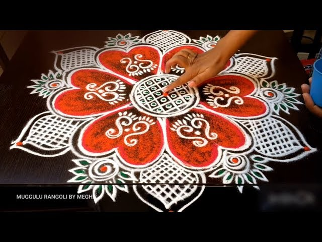 friday rangoli designs with colours friday rangoli kolam friday rangoli kolangal telugu muggulu 2018