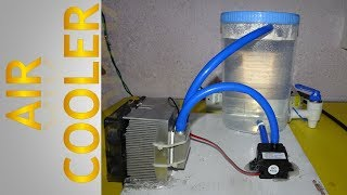 How To Make Air Cooler using Peltier