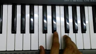 Dil To Pagal Hai on Keyboard/Piano Instrumental
