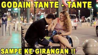 PERTAMAKALI GOMBALIN TANTE -TENTE DAN MODUSIN SAMPE BAPER !!!  PRANK INDONESIA
