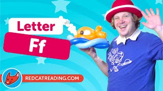 Ff | Fun Phonics | Magicio and Phonics | Made by Red Cat Reading