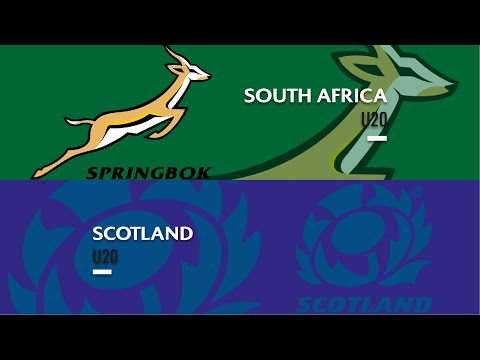 World Rugby U20 Championship 2019 - South Africa U20 v Scotland U20